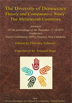 Diversity of democracy: theory and comparative study: the Melanesian Countries
